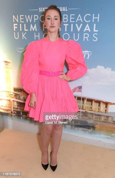 Erin Doherty attends the Newport Beach Film Festival 6th Annual UK Honours at The Langham Hotel on January 29, 2020 in London, England.
