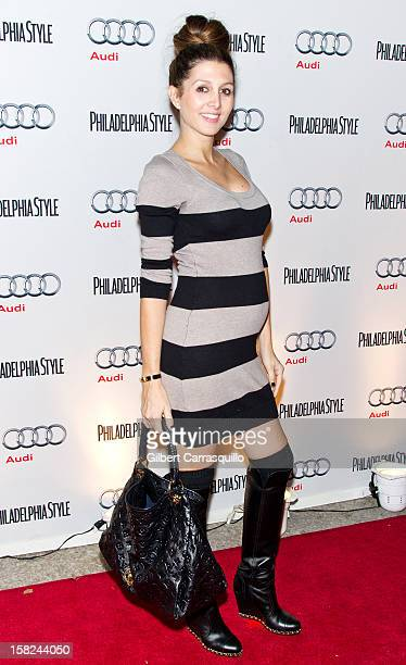 Erin Elmore attends Philadelphia Style magazine's holiday issue cover event at the Hotel Monaco on December 11 2012 in Philadelphia Pennsylvania