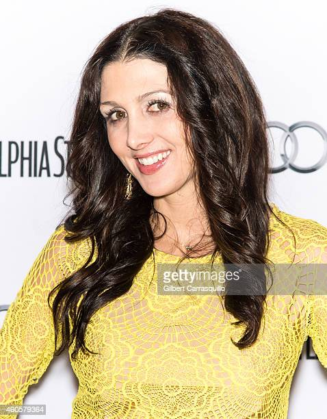 Erin Elmore attends Philadelphia Style's 2014 Holiday Issue Celebration at Historic Down Town Club on December 16 2014 in Philadelphia Pennsylvania