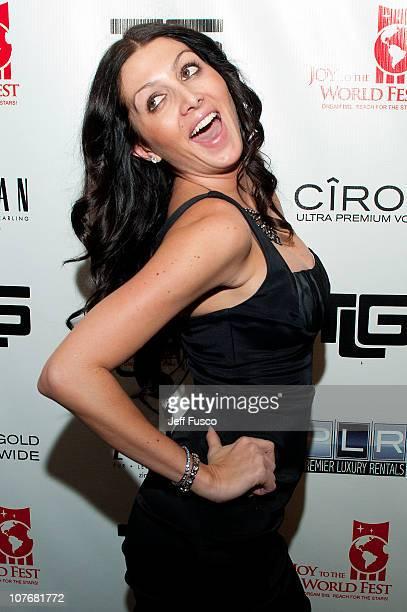 Erin Elmore attends the 2010 Joy to the World Fest on December 18 2010 in Philadelphia Pennsylvania