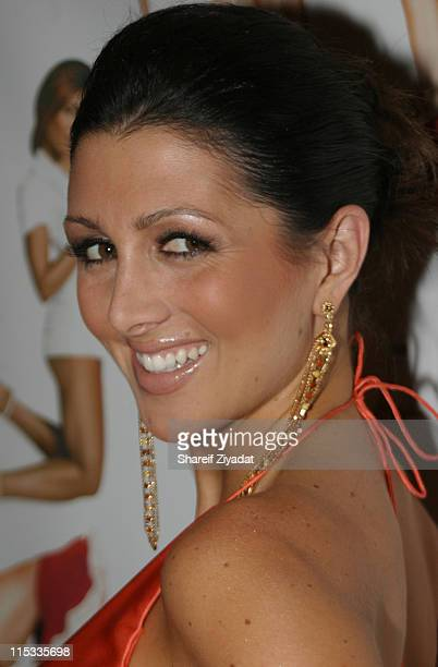 Erin Elmore during The Girls Formerly on NBC's The Apprentice are Fired Up and Giving Back 6 October 2005 at Lotus in New York United States