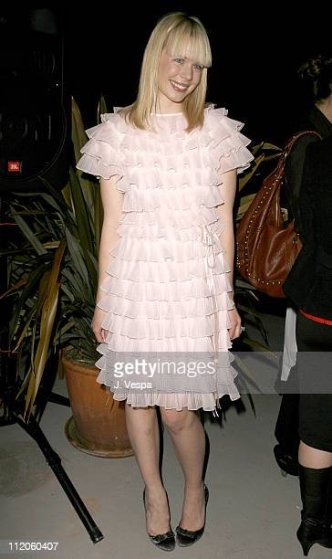 Erin Fetherston during Erin Fetherston's Autumn/Winter 2006 Fashion Presentation and Film Screening at Chateau Marmont in West Hollywood California...