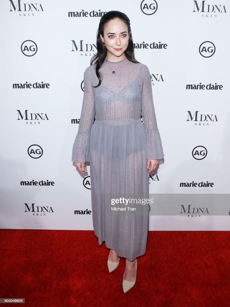Erin Flaherty arrives to the Marie Claire's Image Maker Awards 2018 held at Delilah on January 11, 2018 in West Hollywood, California.
