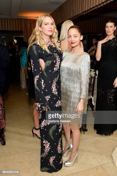 Erin Foster and Nicole Richie attend Rachel Zoe's Los Angeles Presentation at Sunset Tower Hotel on February 6 2017 in West Hollywood California