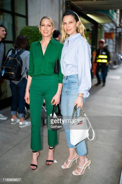Erin Foster and Sara Foster attend a screening for 'Booksmart' at the Whitby Hotel on May 21 2019 in New York City