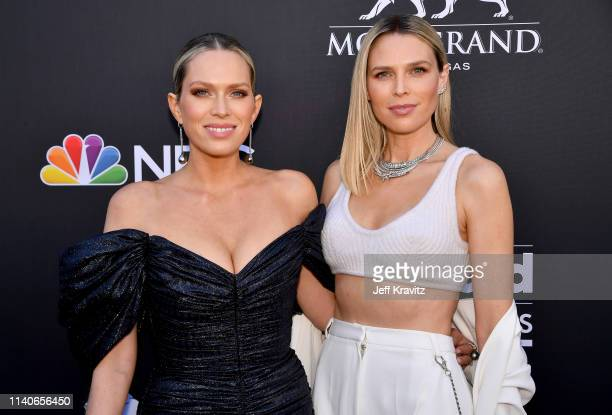Erin Foster and Sara Foster attend the 2019 Billboard Music Awards at MGM Grand Garden Arena on May 1, 2019 in Las Vegas, Nevada.