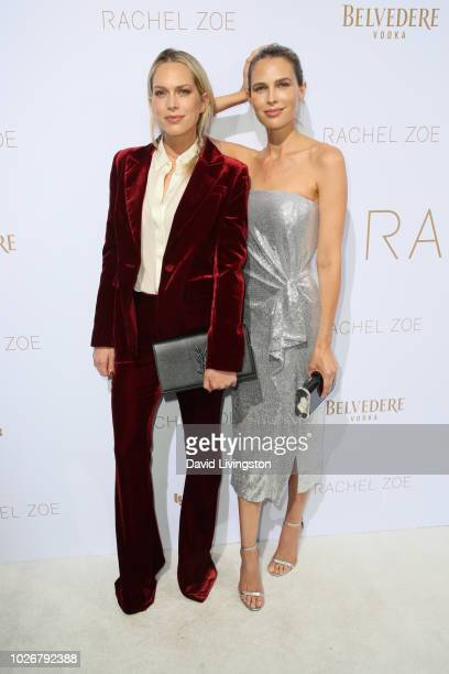 Erin Foster and Sara Foster attend the Rachel Zoe Spring 2019 LA Presentation at Hotel Bel-Air on September 4, 2018 in Los Angeles, California.