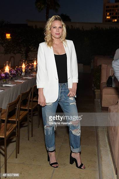 Erin Foster attends Barneys New York Hosts Dinner to Celebrate the Fragrance Collaboration between Russell Westbrook and Ben Gorham of Byredo at...