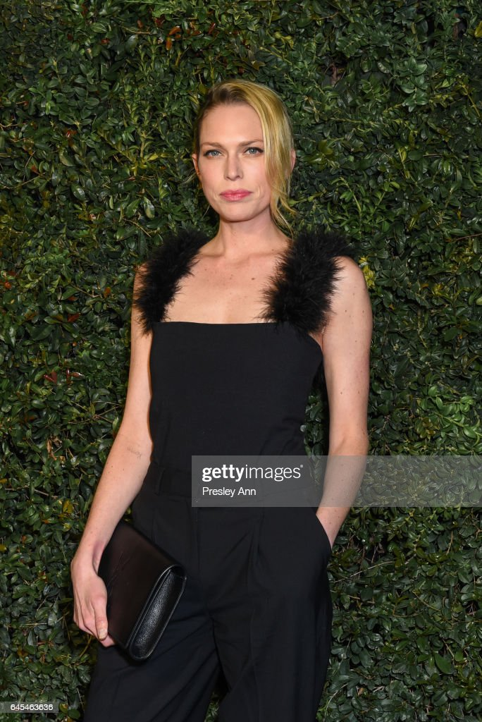 Erin Foster attends Charles Finch and CHANEL Pre-Oscar Awards Dinner at Madeo Restaurant on February 25, 2017 in Los Angeles, California.
