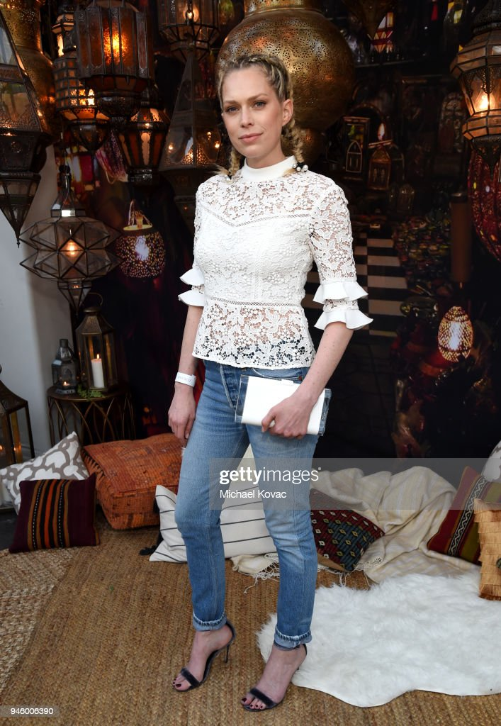 Erin Foster attends Rachel Zoe's 4th Annual ZOEasis at Parker Palm Springs on April 13, 2018 in Palm Springs, California.