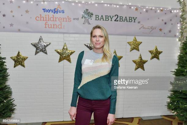 Erin Foster attends The Baby2Baby Holiday Party presented by Toys'R'Us at Montage Beverly Hills at Montage Beverly Hills on December 17 2017 in...