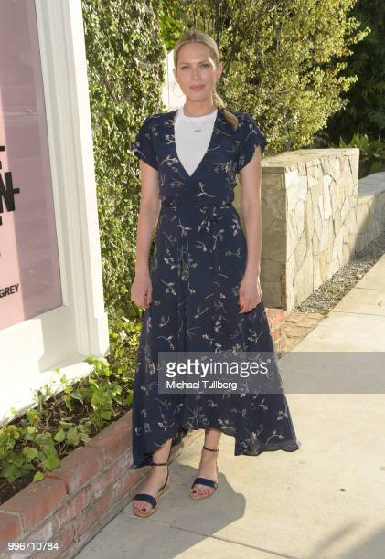 Erin Foster attends the Beats By Dre for Violet Gray party on July 11 2018 in West Hollywood California