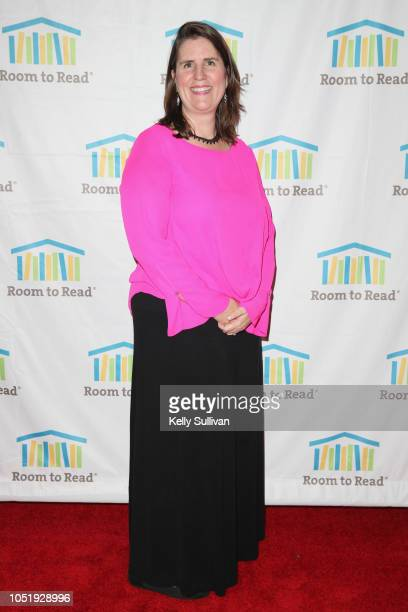 Erin Ganju attends Room To Read 2018 International Day Of The Girl Benefit at One Kearny Club on October 11 2018 in San Francisco California