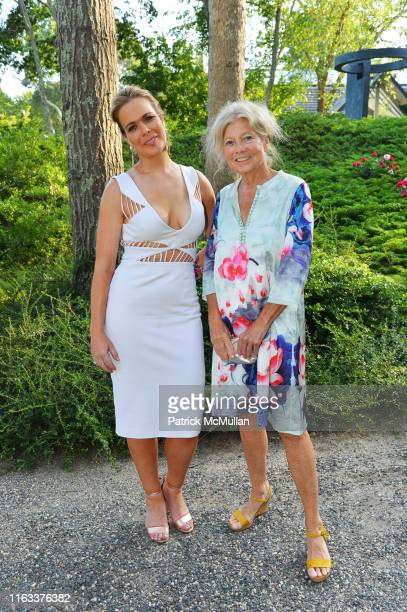 Erin Gibbs and Alice Aycock attend LongHouse Reserve 2019 Summer Benefit Honoring Julian Schnabel And Donna Karan at LongHouse Reserve on July 20...