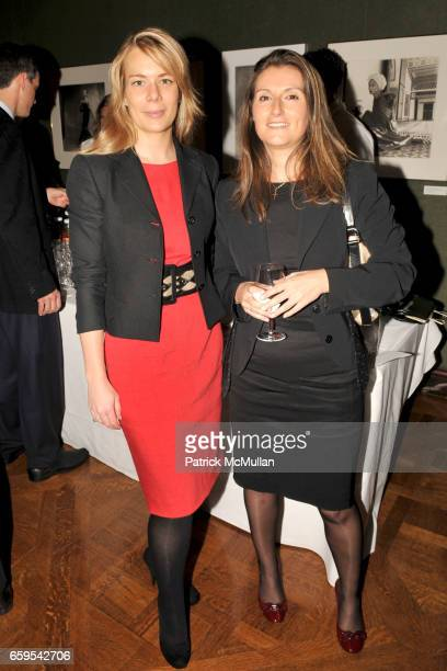 Erin Gibbs and Barbara Marcoz attend AMERICAN BALLET THEATRE's JUNIOR COUNCIL Host an Evening at THE FORBES GALLERIES at Forbes Building on October...