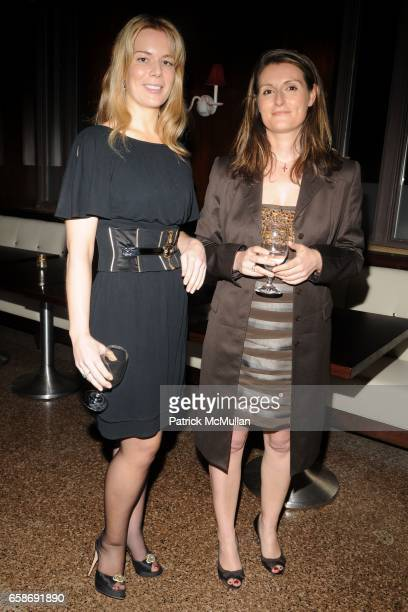 Erin Gibbs and Barbara Marcoz attend BLAIR HUSAIN AMERICAN BALLET THEATRE'S Junior Council Celebrate an Evening at the Ballet at Center Cut at The...