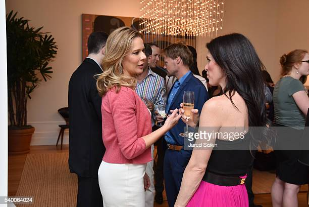 Erin Gibbs and Brooke Lynski attend ABT Spring Assemble at 201 East 57th Street on June 13 2016 in New York City