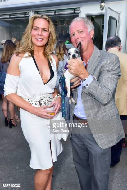 Erin Gibbs and Mark Webb attend ARF's Bow Wow Meow Ball at ARF Adoption Center on August 19 2017 in Wainscott NY