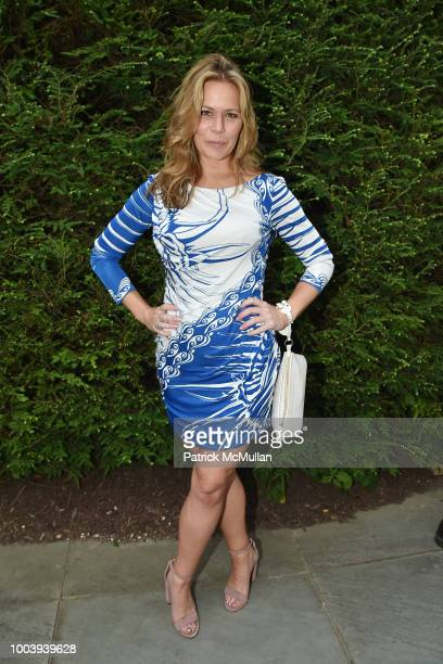Erin Gibbs attend the LongHouse Reserve Annual Benefit Celebrates Brooklyn at LongHouse Reserve on July 21 2018 in East Hampton New York