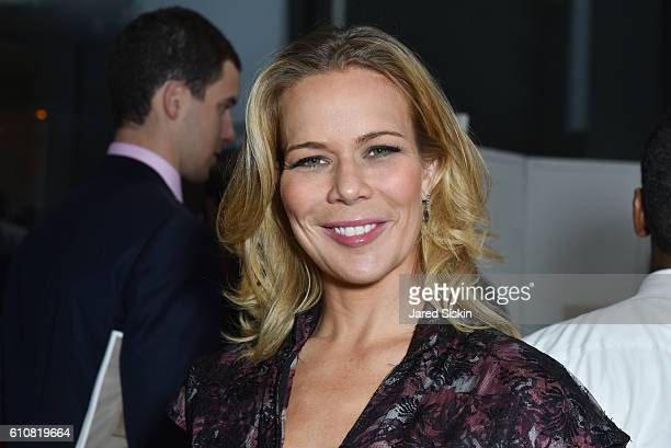 Erin Gibbs attends AVENUE Celebrates the 25 Sexiest New Yorkers at the Maserati Showroom at Maserati of Manhattan on September 27 2016 in New York...
