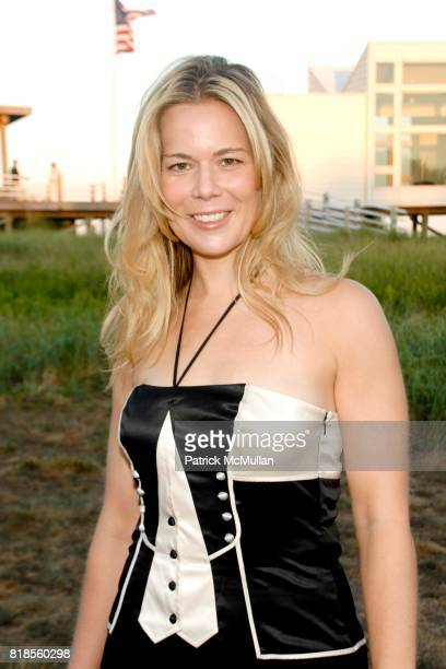 Erin Gibbs attends GUILD HALL SUMMER GALA CELEBRATING THE OPENING OF THE BARBARA KRUGER EXHIBITION at the Guild Hall on August 13 2010 in East...