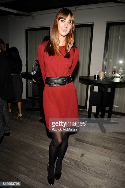 Erin Gray attends CFDA New Members Party Hosted by ELIE and RORY TAHARI at The Tahari Residence on October 7 2008 in New York City