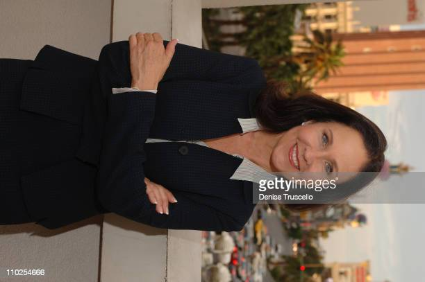 Erin Gray during Erin Gray on Location for Siren August 2 2005 at Las Vegas in Las Vegas Nevada United States