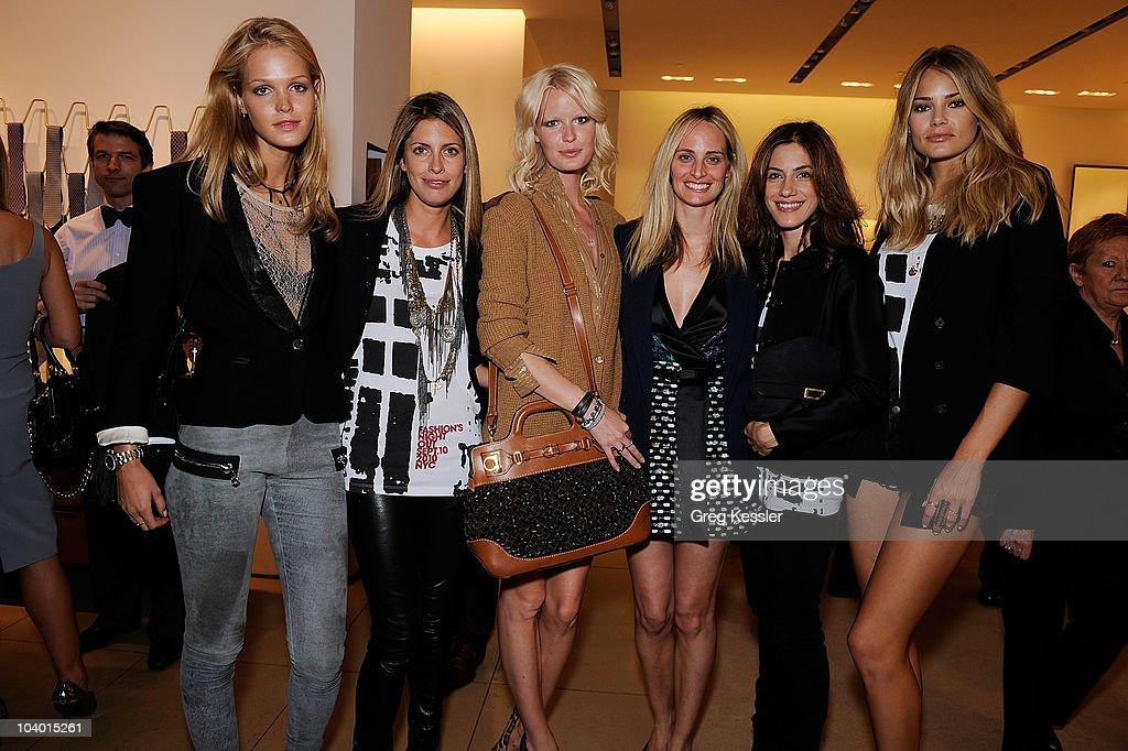 "Salvatore Ferragamo Fashion's Night Out ""W"" Bag Launch Event : News Photo"