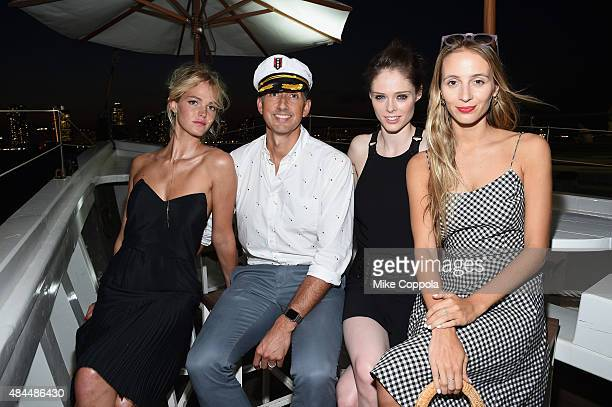 Erin Heatherton W Hotels Global Brand Leader Anthony Ingham Coco Rocha and Harley VieraNewton attend All Aboard as W Hotels toasts the upcoming...