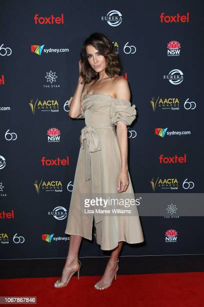 Erin Holland attends the 2018 AACTA Awards Presented by Foxtel | Industry Luncheon at The Star on December 3 2018 in Sydney Australia