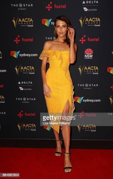 Erin Holland attends the 7th AACTA Awards Presented by Foxtel | Industry Luncheon at The Star on December 4 2017 in Sydney Australia