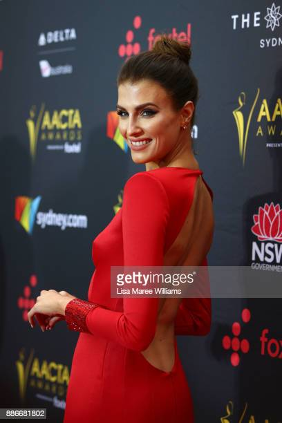 Erin Holland attends the 7th AACTA Awards Presented by Foxtel | Ceremony at The Star on December 6 2017 in Sydney Australia