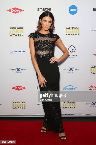 Erin Holland attends the Australian LGBTI Awards at The Star on March 2 2018 in Sydney Australia
