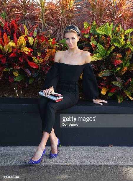 Erin Holland attends The Championships Day 2 Queen Elizabeth Stakes at Royal Randwick Racecourse on April 8 2017 in Sydney Australia