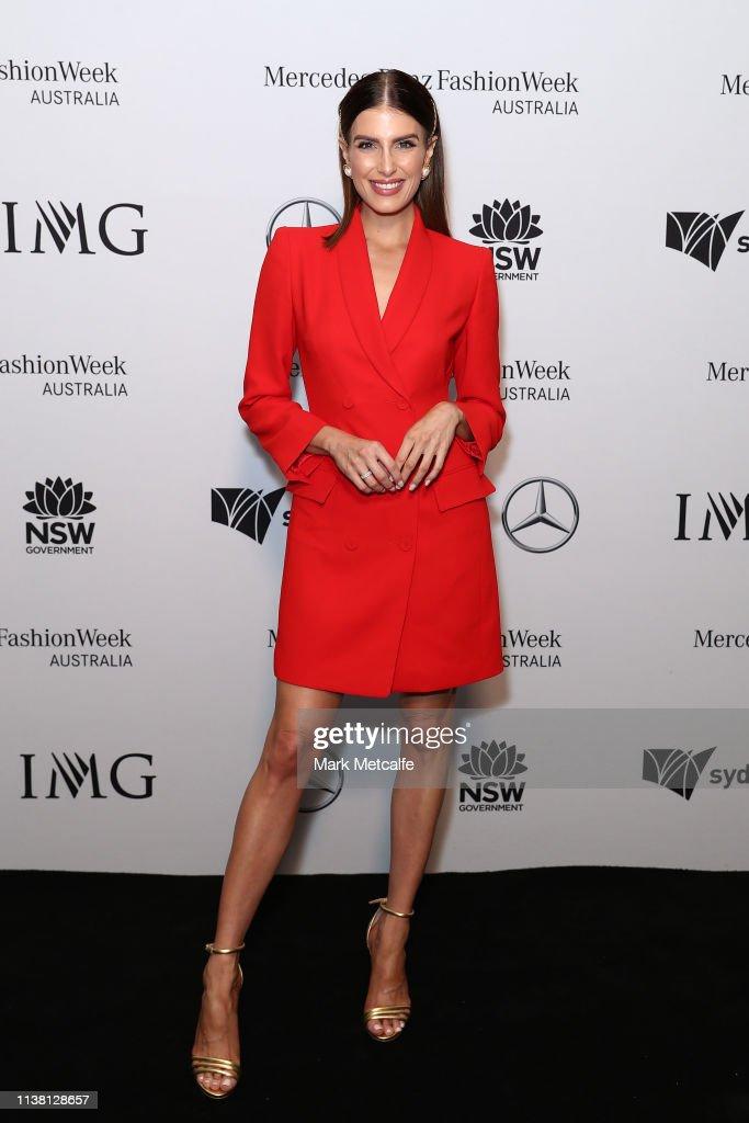 AUS: Mercedes Benz Fashion Week Australia Resort 20 Collections Schedule Launch - Arrivals