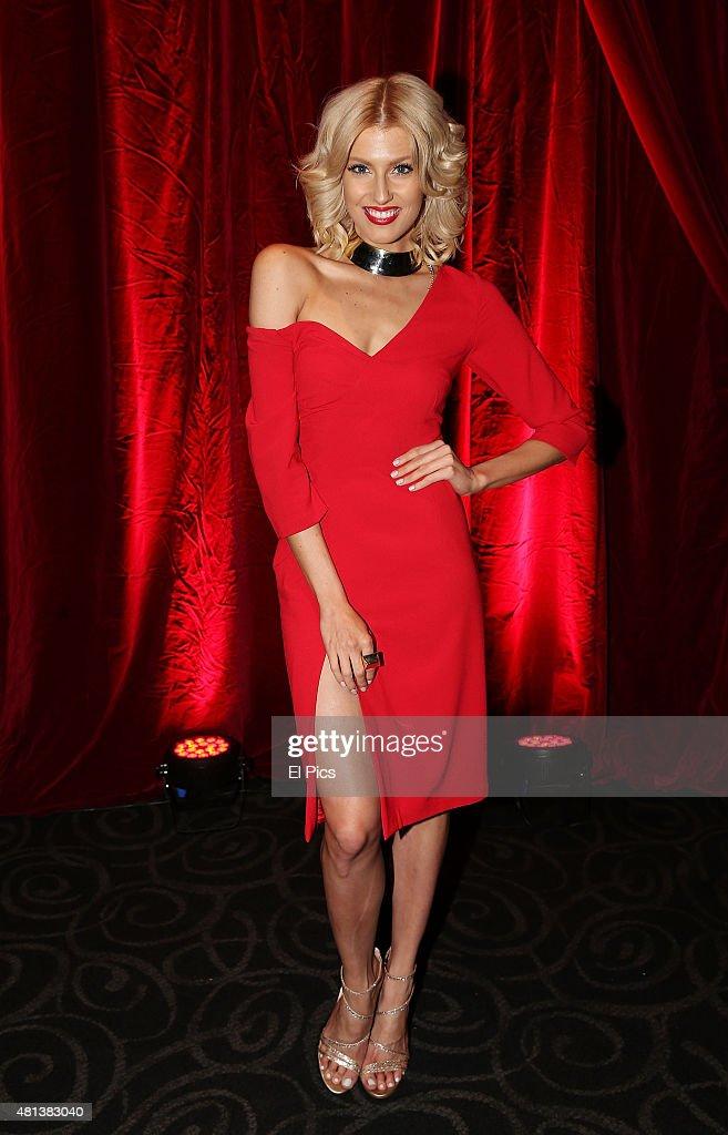 Erin Holland attends the Trainwreck Australian premiere at Event Cinemas George Street on July 20, 2015 in Sydney, Australia.
