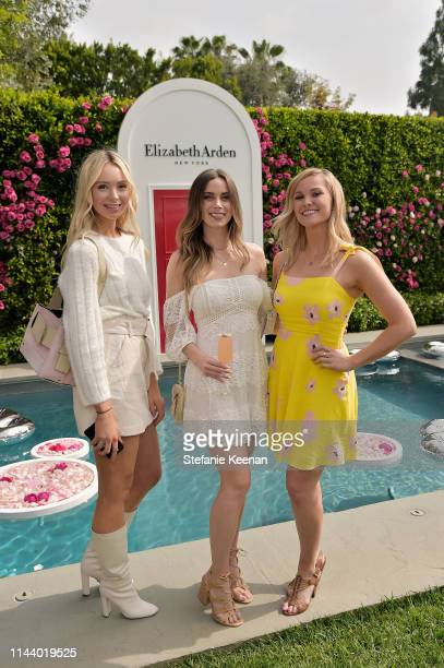 Erin Jahns Carly Simons and Cathy Marks attend Reese Witherspoon hosts the Elizabeth Arden Garden Party at Private Residence on May 15 2019 in...