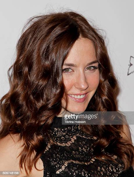 Erin Karpluk attends Canada's Grammy Night at Raleigh Studios on February 11 2016 in Los Angeles California