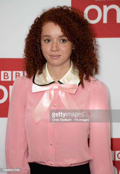 Erin Kellyman attends BBC OneÕs Les Miserables launch at BAFTA in London.