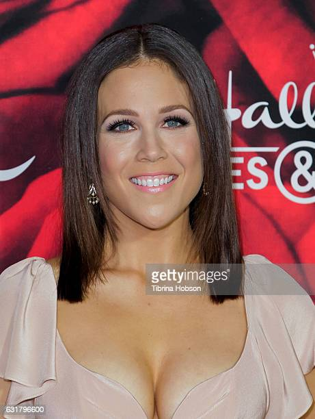 Erin Krakow attends Hallmark Channel Movies and Mysteries Winter 2017 TCA Press Tour at The Tournament House on January 14 2017 in Pasadena California
