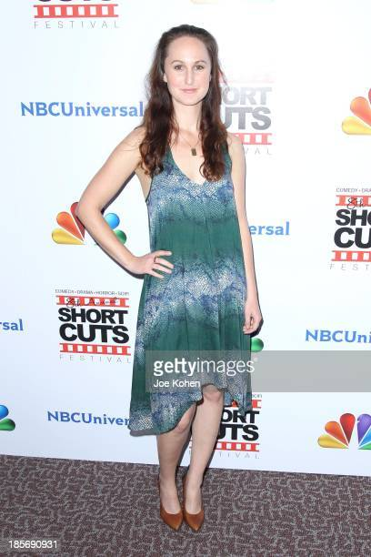 Erin Krozek attends NBC Universal's 8th Annual Short Cuts Festival Grand Finale at DGA Theater on October 23 2013 in Los Angeles California