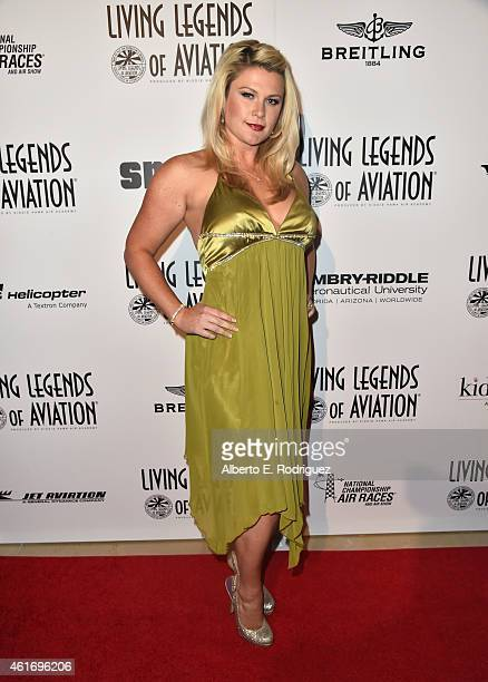 Erin Lear attends the 12th Annual 'Living Legends of Aviation' at The Beverly Hilton Hotel on January 16 2015 in Beverly Hills California