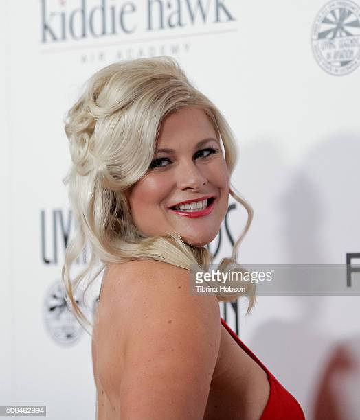 Erin Lear attends the 13th Annual Living Legends of Aviation Awards at The Beverly Hilton Hotel on January 22 2016 in Beverly Hills California