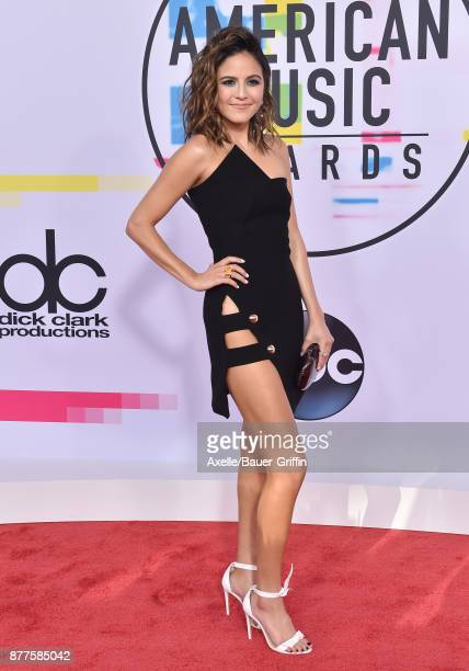 Erin Lim arrives at the 2017 American Music Awards at Microsoft Theater on November 19 2017 in Los Angeles California