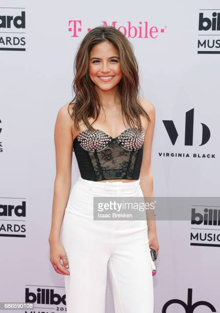 Erin Lim arrives at the 2017 Billboard Music Awards presented by Virginia Black at TMobile Arena on May 21 2017 in Las Vegas Nevada