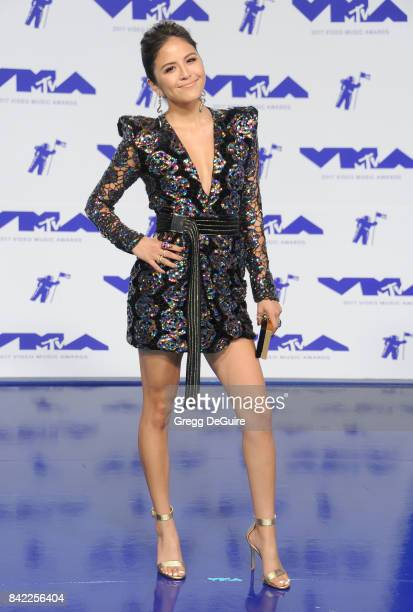 Erin Lim arrives at the 2017 MTV Video Music Awards at The Forum on August 27 2017 in Inglewood California