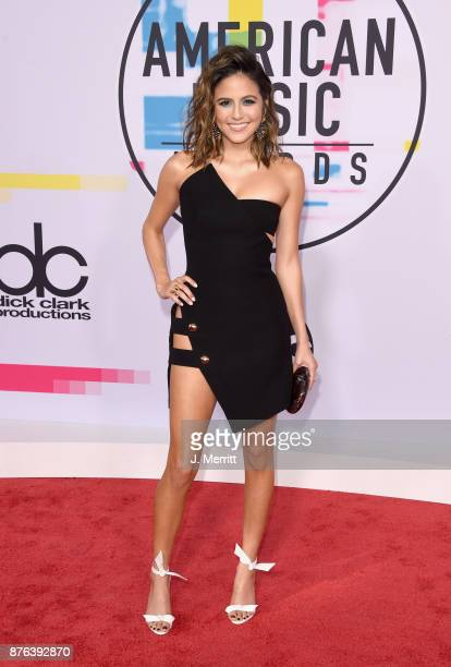 Erin Lim attends 2017 American Music Awards at Microsoft Theater on November 19 2017 in Los Angeles California