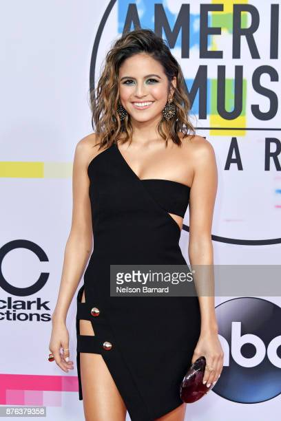 Erin Lim attends the 2017 American Music Awards at Microsoft Theater on November 19 2017 in Los Angeles California