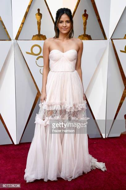 Erin Lim attends the 90th Annual Academy Awards at Hollywood Highland Center on March 4 2018 in Hollywood California