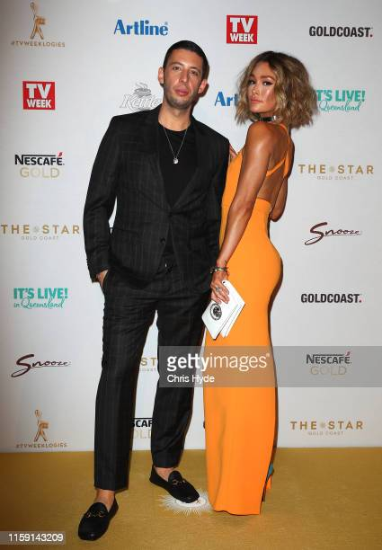 Erin McNaught and Example arrive at the 61st Annual TV WEEK Logie Awards at The Star Gold Coast on June 30 2019 on the Gold Coast Australia